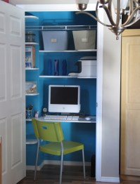 Home Office Part 2: Closet Offices & Inspiration ...