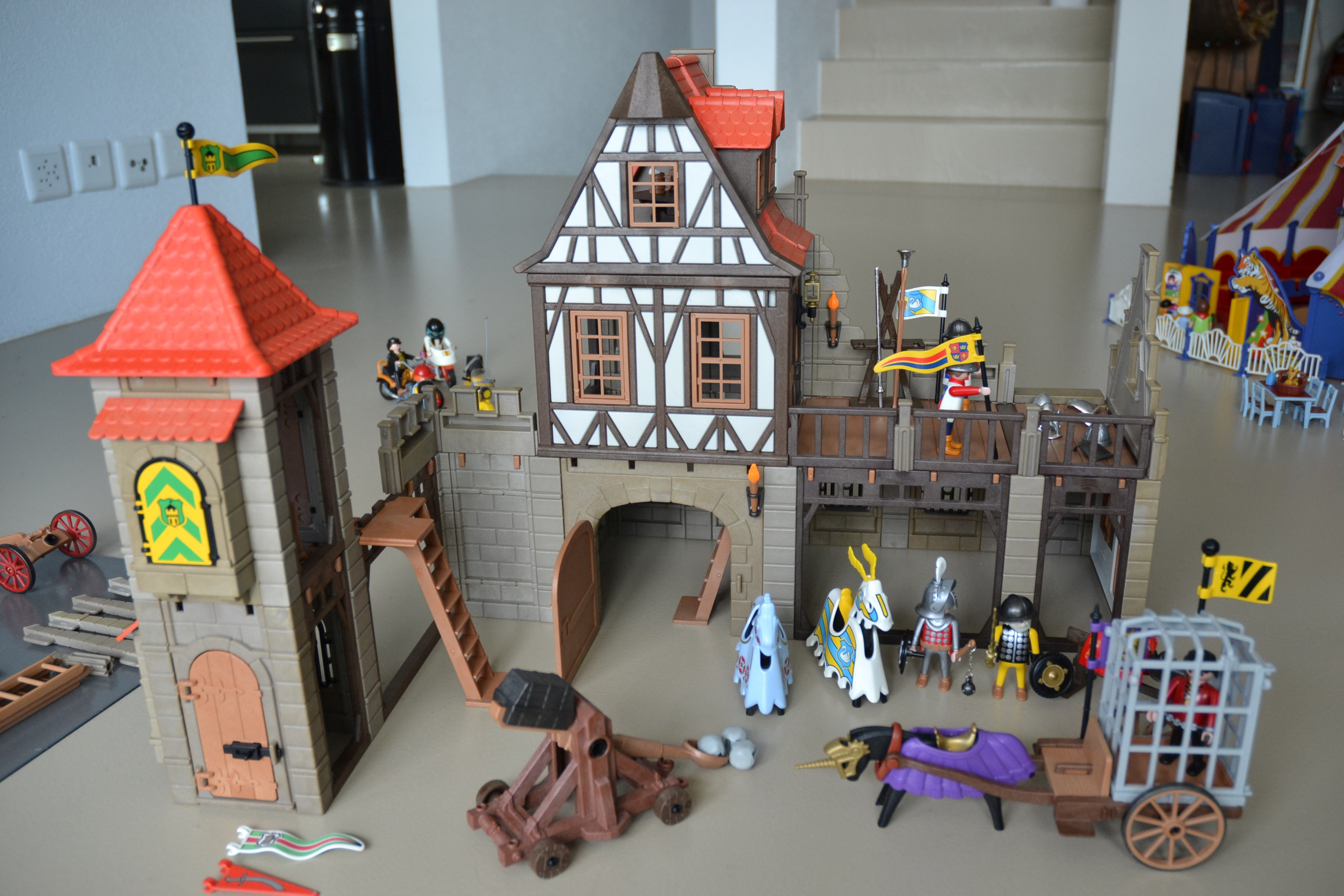 Katzenbaum Playmobil Index Of Marktplatz Images Playmobil