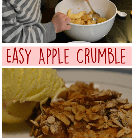 Carter's Apple Crumble!