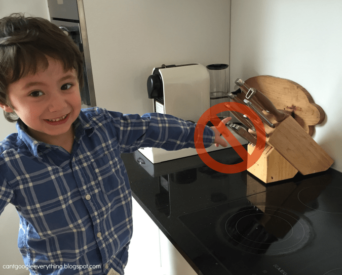 mini chef monday: kids kitchen safety tips with carter - my mini