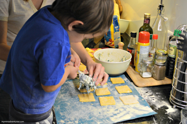 Mini Chef Mondays: Homemade Ravioli