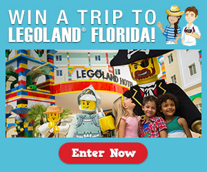 Win a Trip to Legoland Florida!