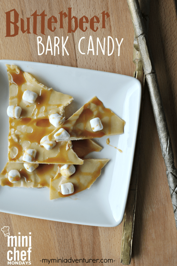 Butterbeer bark candy