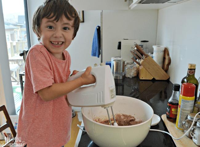mummy-cupcakes-mixing