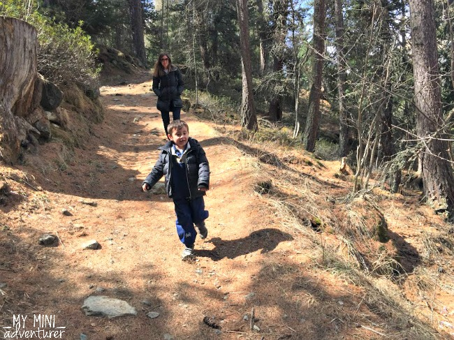 zermatt hiking me and carter