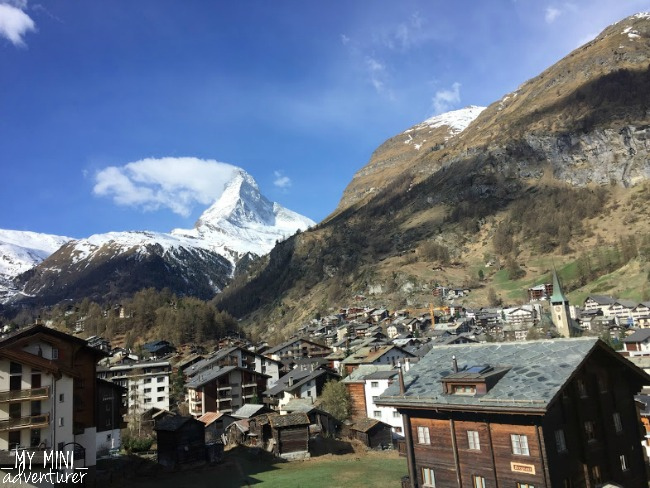 zermatt matterhorn view from train