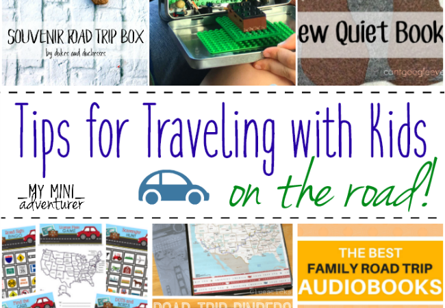 20+ Tips for Travel with Kids on the Road