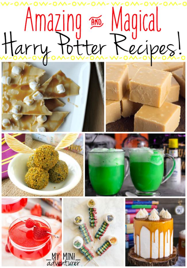 Harry Potter Recipes Round Up My Mini Adventurer