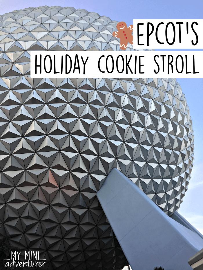 Epcot Holiday Cookie Passport