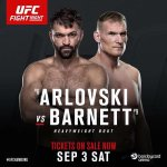 UFC Fight Night 93 - Arlovski vs Barnett