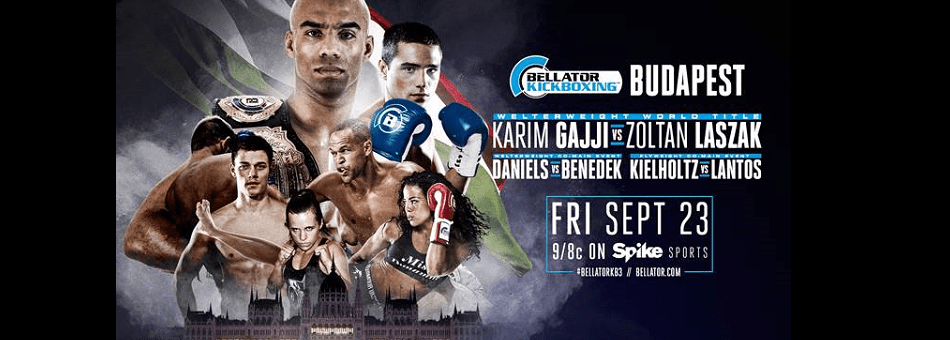 Bellator Kickboxing: Budapest Airs TONIGHT on SPIKE at 9 p.m. ET/8 p.m. CT