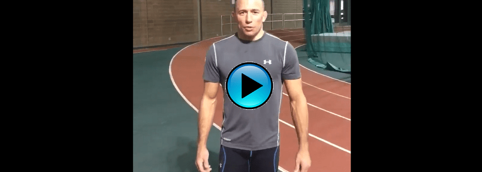 Georges St-Pierre sends message to UFC champ Michael Bisping