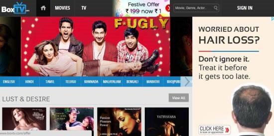 Box TV Movies - watch free movies online
