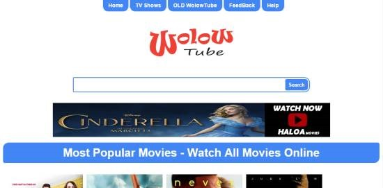 Wollow Tube - watch free movies online