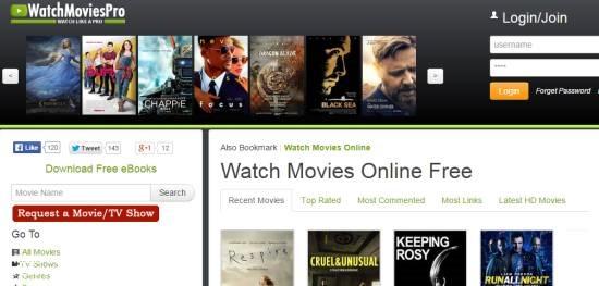 WatchMoviePro- watch free movies online