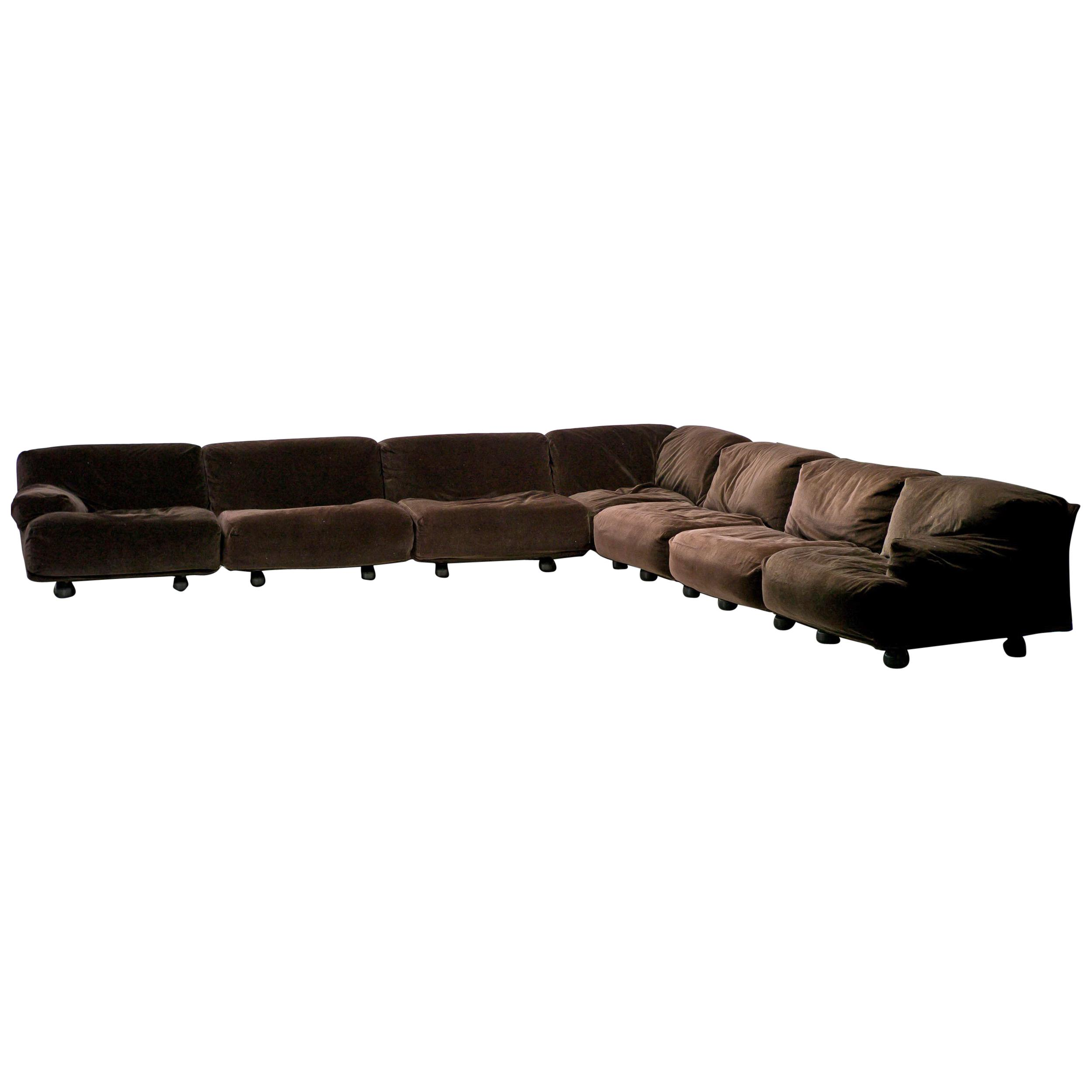 Cheap Modular Lounges Very Large Cassina Fiandra Modular Sofa