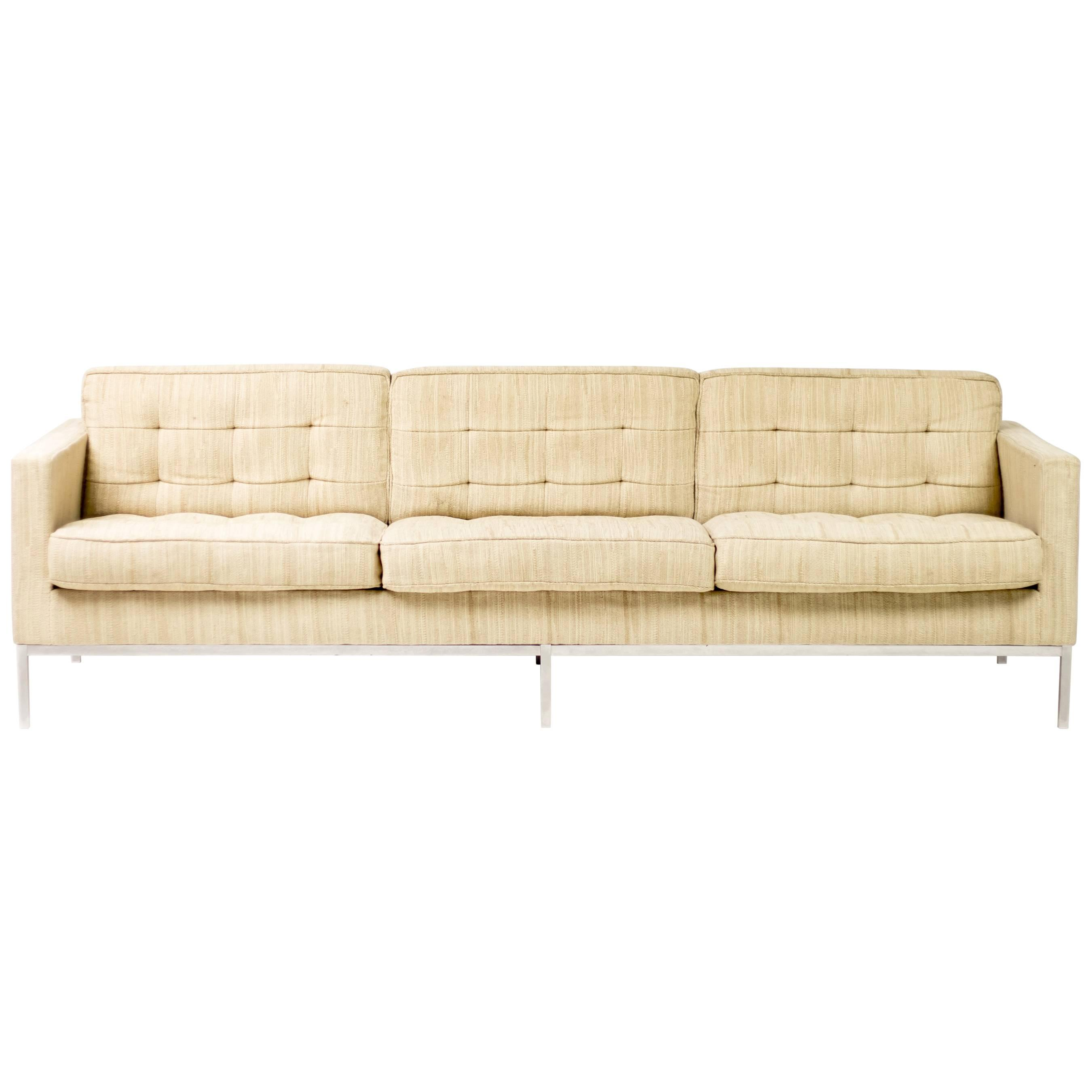 Knoll Sofa Florence Knoll Sofa For Knoll Associates 1954