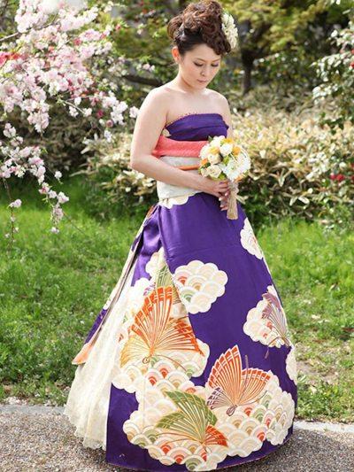 Kimono Wedding Dress Is a Stunning and Easy DIY for ...