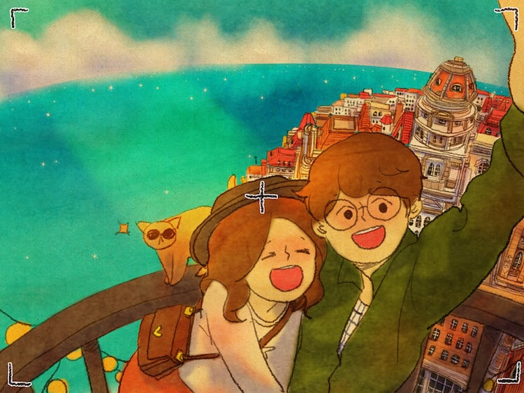 I Love You Animation Wallpaper Love Is Series By Puuung Explores The Little Things In