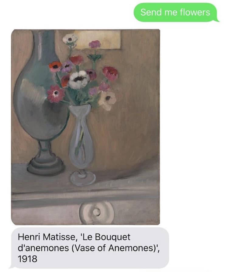 Send Me SFMOMA Service Sends Text Message Art to Users - cool text message art
