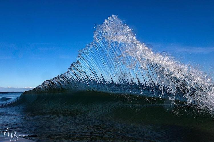 Photographer Spends Hours in Water Capturing Ocean Wave Photography