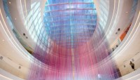 Shimmering Yarn Art Fills the Mall of America with Rainbow ...