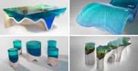 Artistic Acrylic Furniture Inspired by Nature by Eduard Locota
