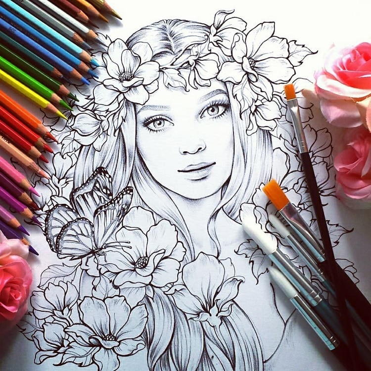 Hundreds of Adult Coloring Sheets You Can Download for Free