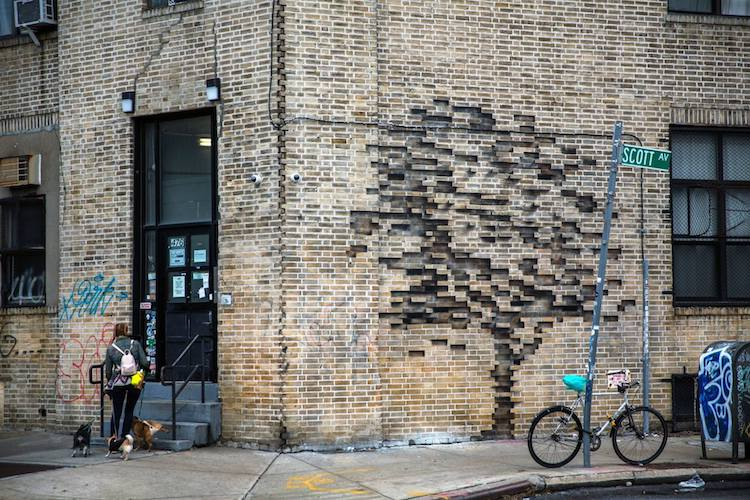 3d Basketball Wallpaper Street Art Illusion Creating Using Simple Stencil By Pejac