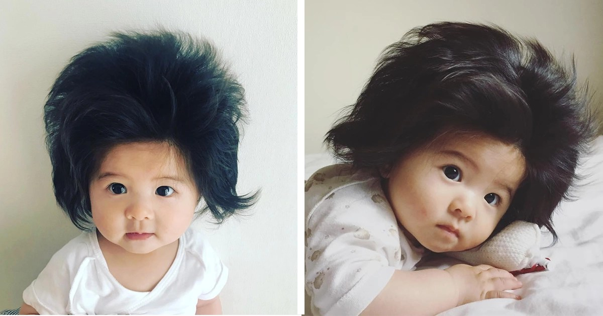 Baby Lot Baby With Lots Of Hair Amasses Over 70k Adoring Instagram Fans