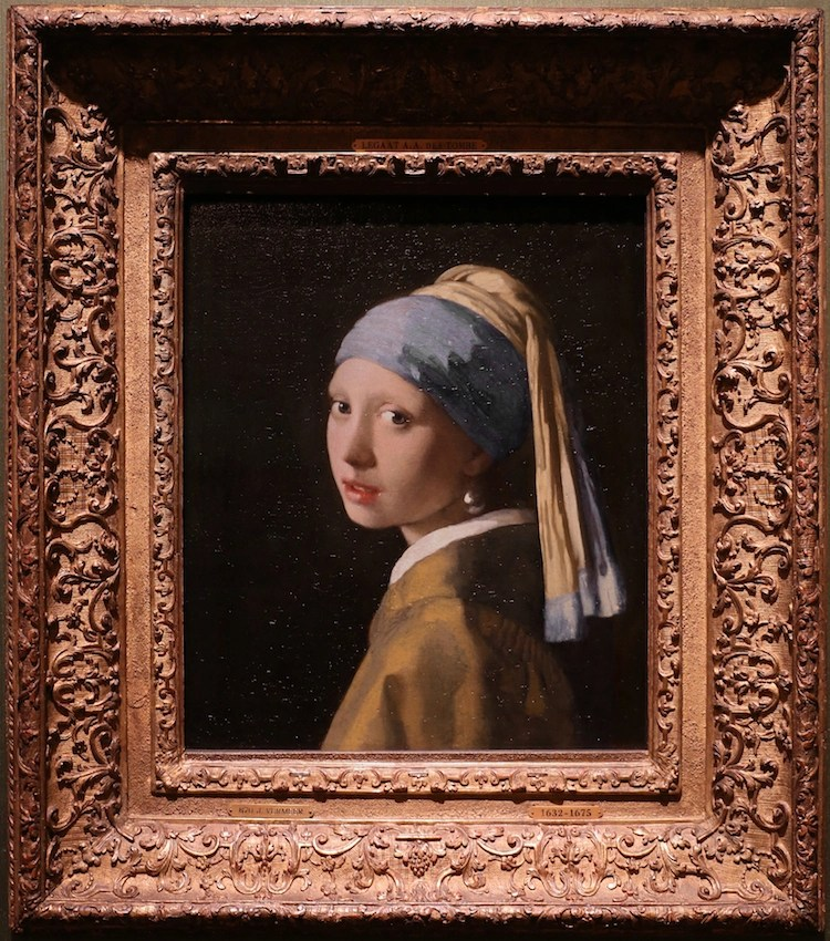 The History of the Girl With a Pearl Earring Painting by