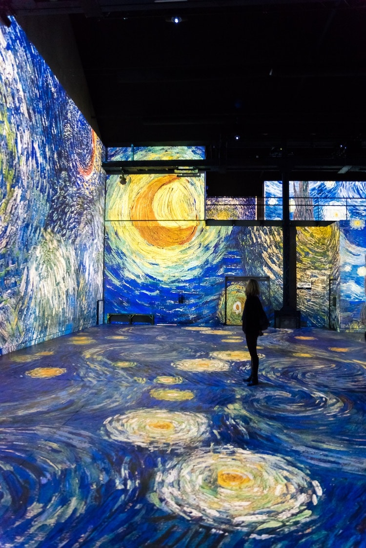 Vang Gogh Cuadros Culturespaces Presents New Van Gogh Exhibit At The Atelier Des