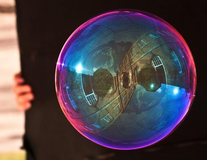 Unbelievable Wallpaper Hd Magical Reflections On Soap Bubbles
