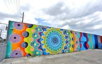 Brightly Colored Murals Mesmerize with Their Hypnotic ...