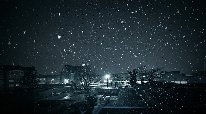 Falling From Stars Wallpaper The Most Magical Snow Falls At Night 7 Photos