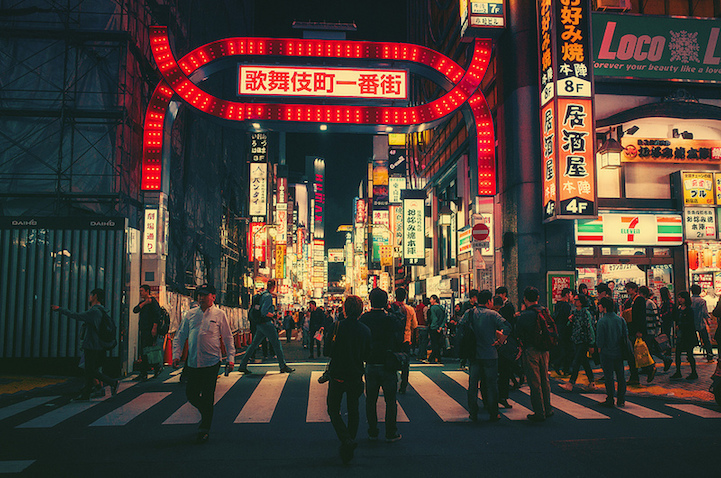 Signs And Quotes Wallpapers Cinematic Photos Of Tokyo S Streets Magically Lit Up At Night