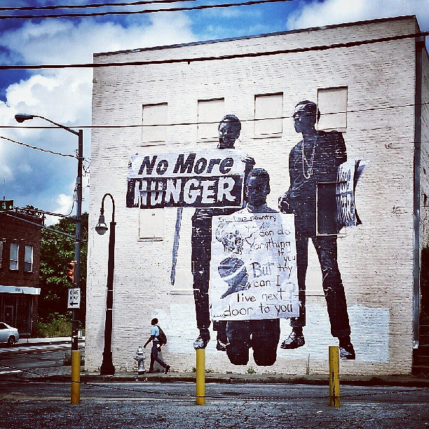 Toit Terrasse Friche Belle De Mai Jr's New Street Art Tribute To Mlk's Famous Speech