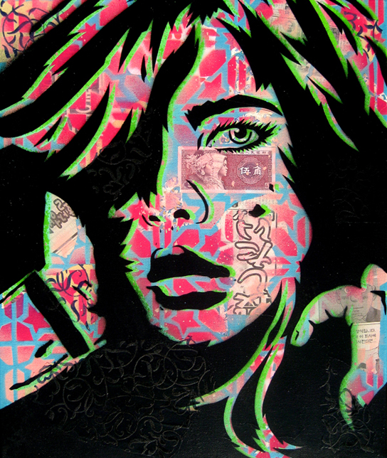 PaperMonster\u0027s Sexy Stencil Art (6 total)