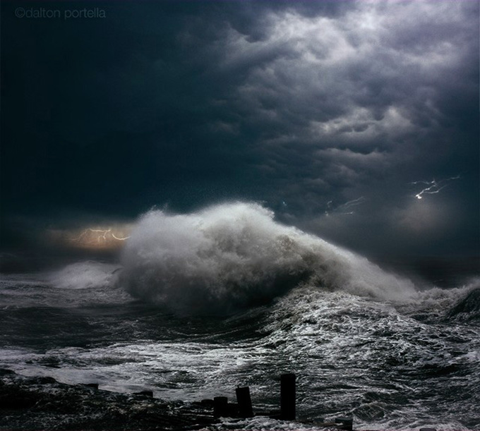 How To Get Dynamic Wallpapers Iphone X Dynamic Photos Of The Ocean During Powerful Storms