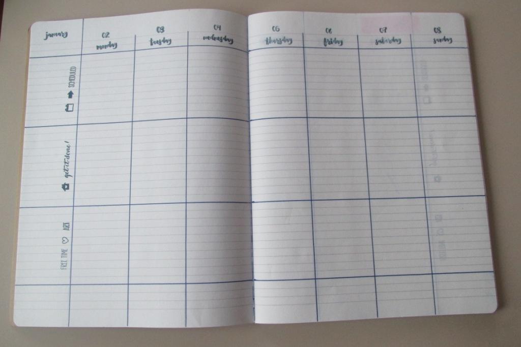 calendar budget planner