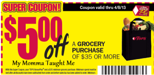 tops money off coupon