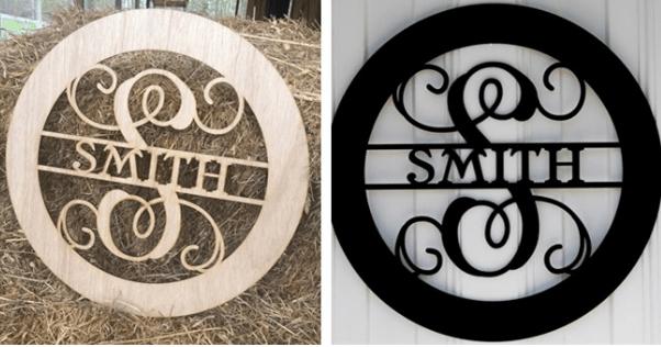 wooden-circle-family-name