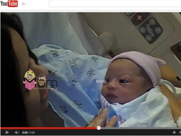 Taken minutes after Sam was born.