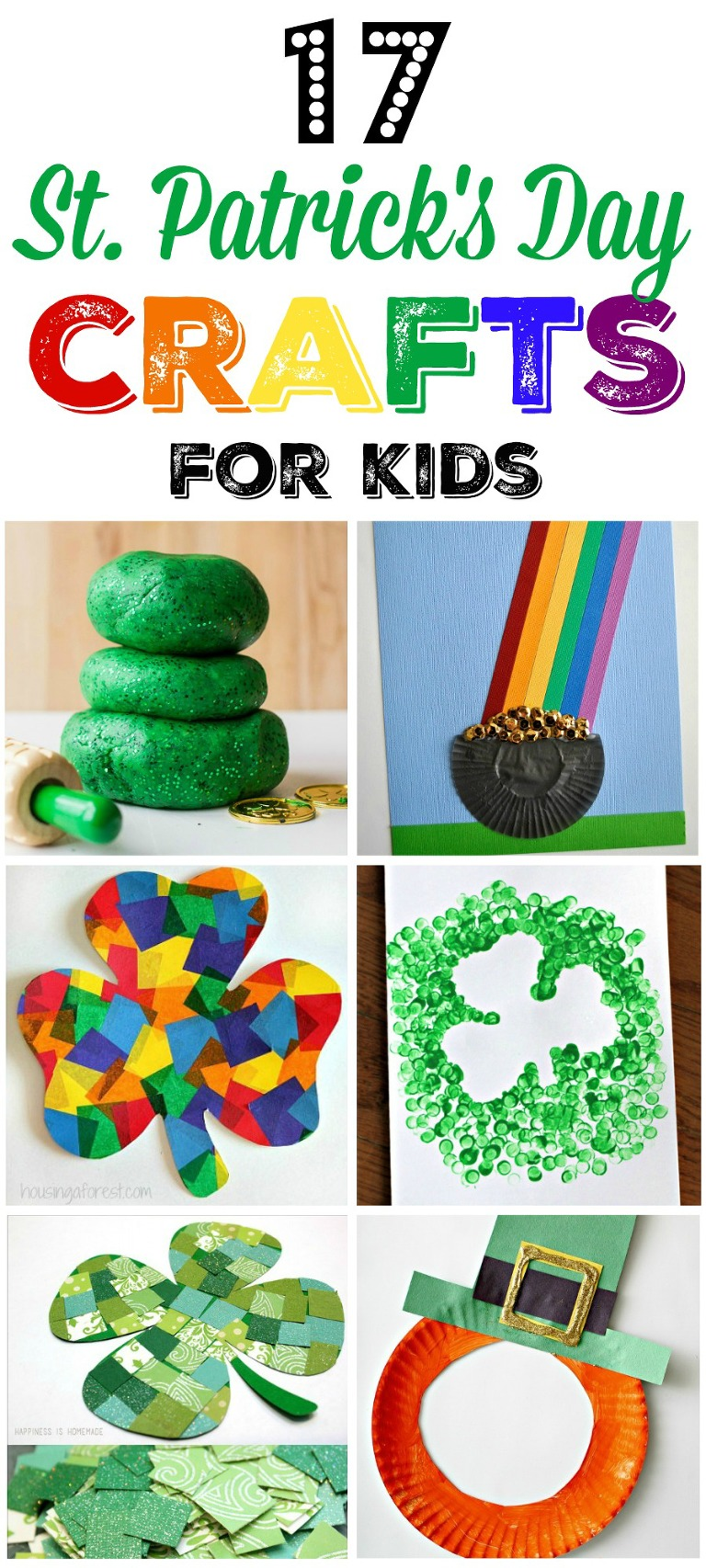 17 fun and easy St. Patrick's day crafts for kids