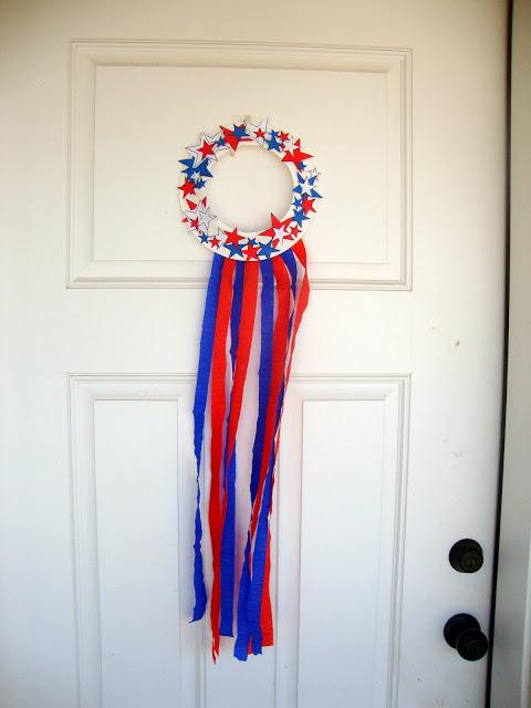 25 patriotic crafts for kids my mommy style. Black Bedroom Furniture Sets. Home Design Ideas