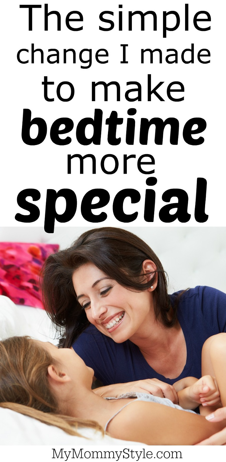 The simple change I made to make bedtime more special