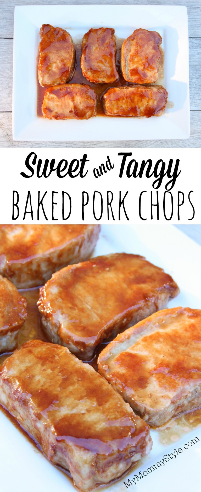 sweet and tangy baked pork chops  my mommy style