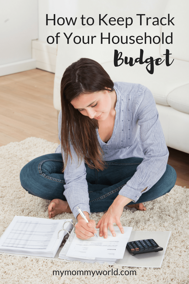 how to keep track of budget
