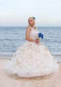 Balloon Wedding Dresses | Tawney Bubbles, Las Vegas ...