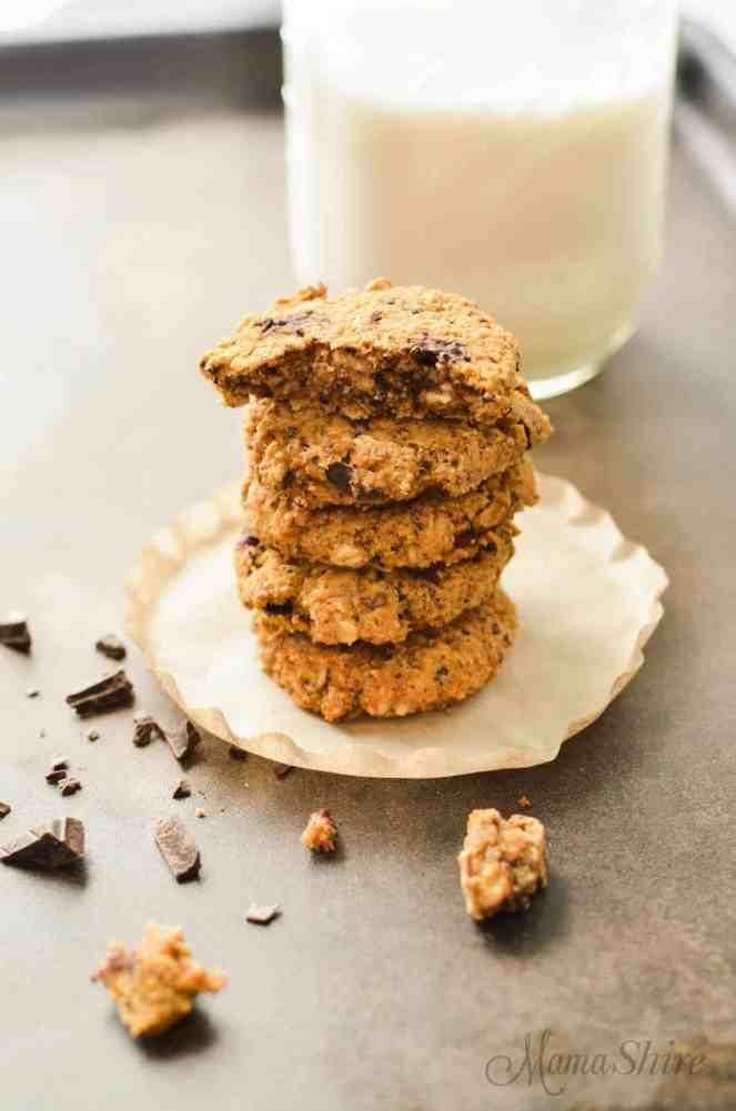 pumpkin-oatmeal-chocolate-chunk-cookies